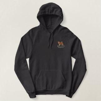 Brown Finnish Lapphund Hooded Sweatshirt