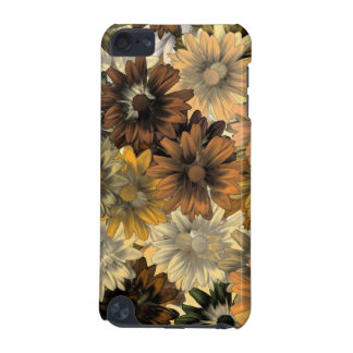 Brown floral pattern iPod touch (5th generation) cover