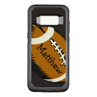 Brown Football Sports OtterBox Galaxy S8 Case
