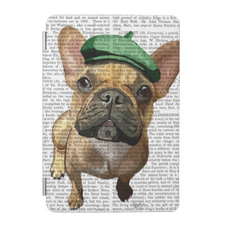 Brown French Bulldog with Green Hat 2 iPad Mini Cover