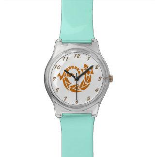 Brown Gecko Tattoo Wrist Watches