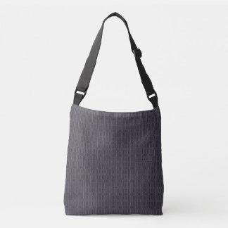 Brown Geometric Cross Body Bag