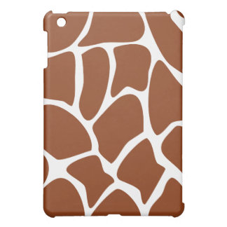 Brown Giraffe Pern. iPad Mini Case