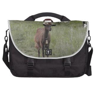 Brown Goat Computer Bag