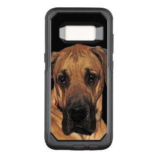 Brown Great Dane Dog OtterBox Galaxy S8 Case