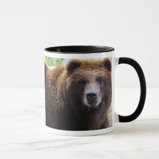 Brown Grizzly Bear Mug