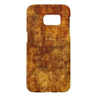Brown Grunge Digital Art Phone Case