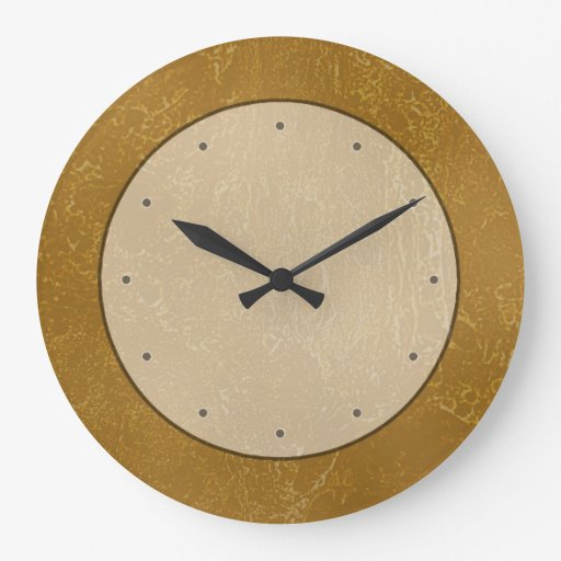 Brown Grungy Abstract Background Design Clocks