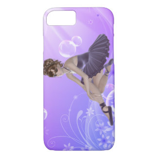 Brown Hair Ballerina iPhone 7, Barely There iPhone 7 Case
