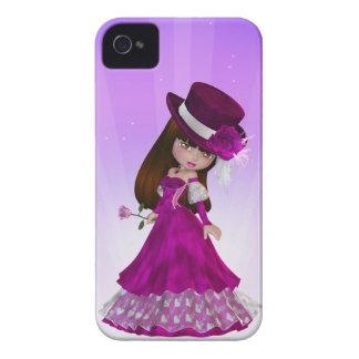 Brown Hair Princess Blackberry Case