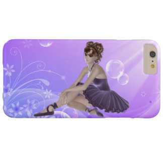 Brown Hair Woman iPhone 6/6s Plus, Barely There Barely There iPhone 6 Plus Case
