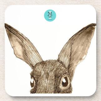 Brown Hare II Coasters (6 Set)