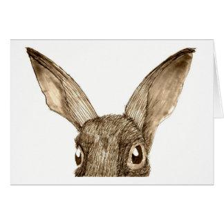 Brown Hare II Greeting Card
