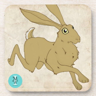 Brown Hare III Coasters (6 Set)