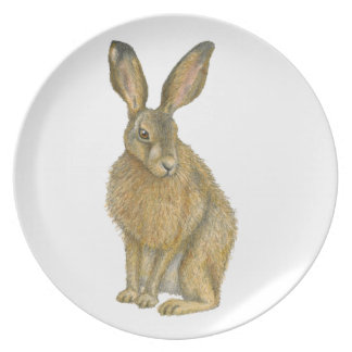 Brown Hare Plate