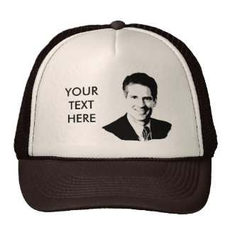 BROWN TRUCKER HATS