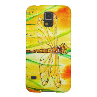 Brown Hawker Dragonfly Galaxy S5 Cover
