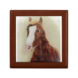 Brown Horse Art Gift Box