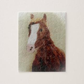 Brown Horse Art puzzle