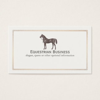 393 equestrian business cards and equestrian business for Horse business cards