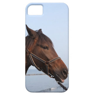 Brown horse head case for the iPhone 5