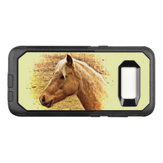 Brown Horse in Sun OtterBox Galaxy S8 Case