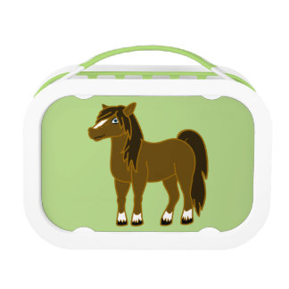 Brown Horse Lunch Box