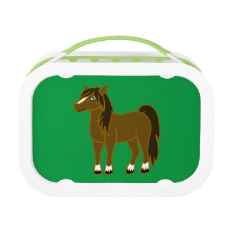 Brown Horse Lunchboxes