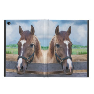 Brown Horse with Halter Powis iPad Air 2 Case