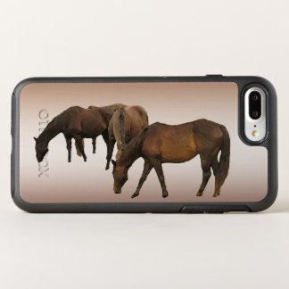 Brown Horses Animal OtterBox Symmetry iPhone 8 Plus/7 Plus Case
