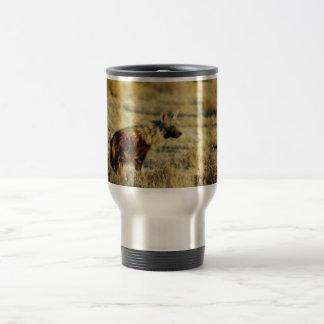 Brown hyena wildlife mugs