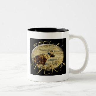 Brown Hyena wildlife safari mugs