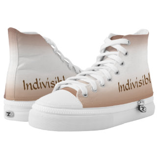 Brown Indivisible High Top Sneakers