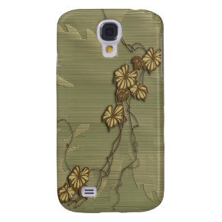 Brown ivy and grape leaf galaxy s4 case