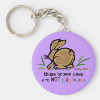 Brown Jelly Beans Key Ring