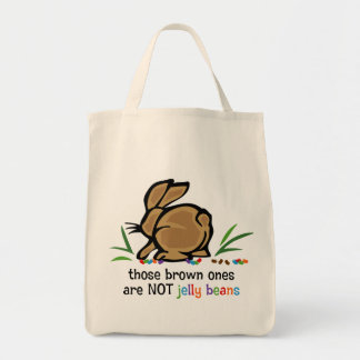 Brown Jelly Beans Tote Bag