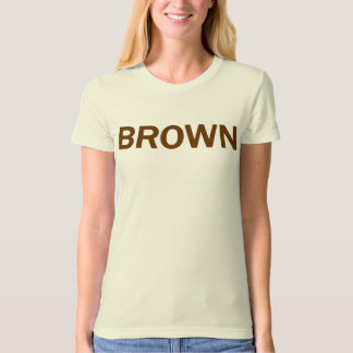 BROWN - Jerry Brown 4 CA Governor Tee Shirts
