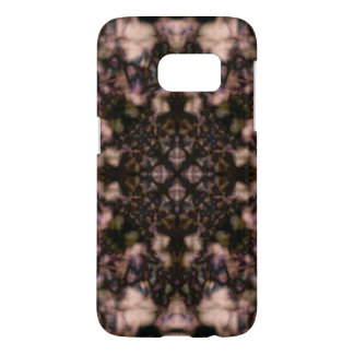 Brown kaleidoscope pattern