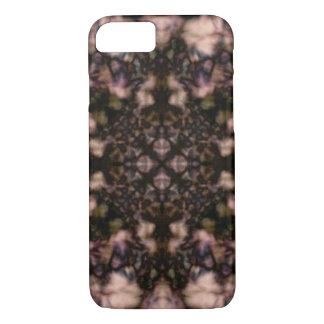 Brown kaleidoscope pattern iPhone 8/7 case