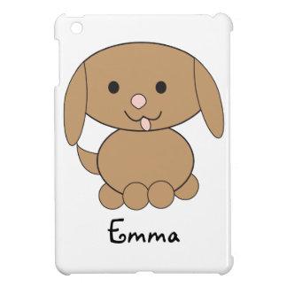 Brown Kawaii Dog Customizable Case For The iPad Mini