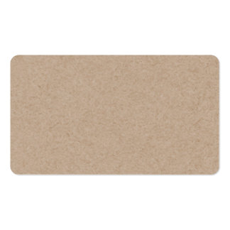 Brown Kraft Paper Background Printed Double-Sided Standard Business Cards (Pack Of 100)