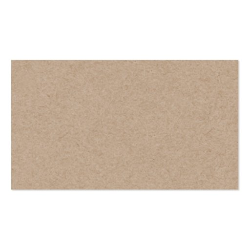 Brown Kraft Paper Background Printed Business Cards