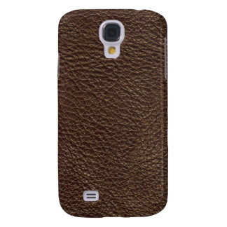 Brown Leather Texture Pattern Galaxy S4 Case