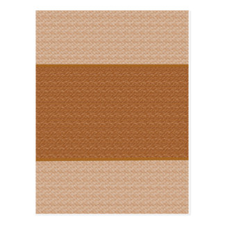 Brown & Light Cream : Two- Toned Post Cards