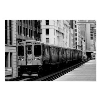 Brown Line Poster