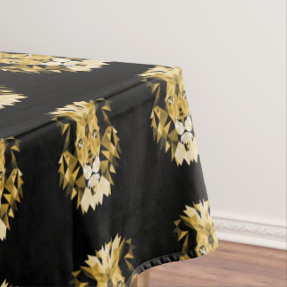 Brown Lion Tablecloth