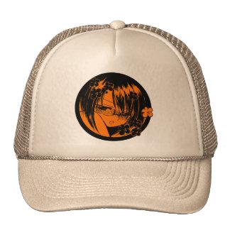 brown meganekko muuhh moe cap