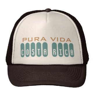 Brown Men's Costa Rica Souvenir Pura Vida Cap