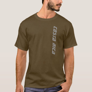 Brown Men's Costa Rica T-shirt