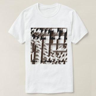 brown mirror T-Shirt